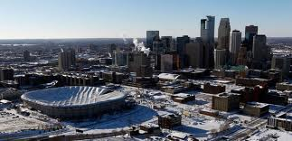 Collapsed Metrodome in Minneapolis