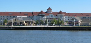resort along Sheboygan Riverwalk